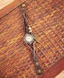 Lakeside Collection 622769024 Brown Leather Charm Bracelet Watch offers