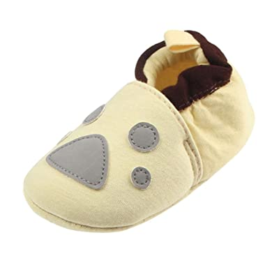 Witspace Baby Girl Soft Sole Crib Shoes+Hairband Infant Kids Anti-Slip Prewalker Sneakers