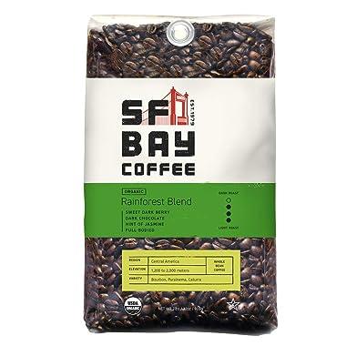 SF Bay Coffee Organic Rainforest Blend Whole Bean