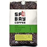 SF Bay Coffee Organic Rainforest Blend Whole Bean 2LB (32 Ounce) Medium Roast