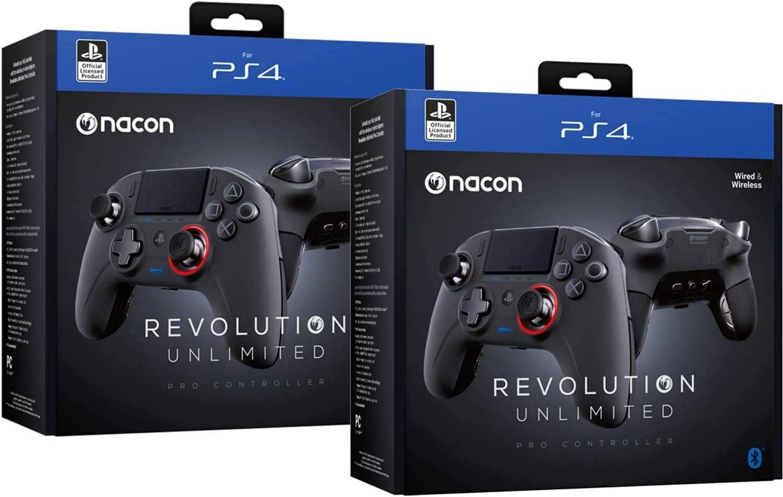 Nacon Nacon-311608 - Controlador Revolution Unlimited Pro V3 PS4 Playstation 4 / PC inalámbrico