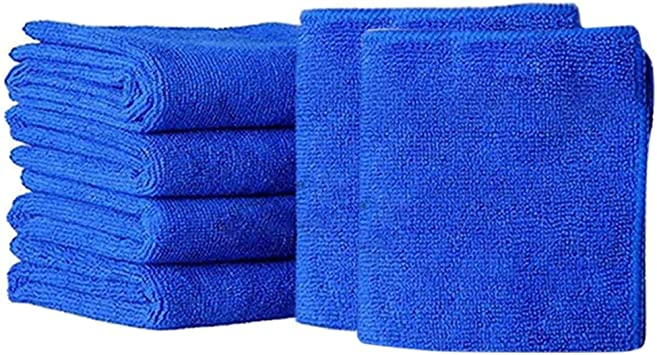 15 Pcs 25*25cm Soft Absorbent Wash Cloth Car Auto Care Microfiber Cleaning Towel
