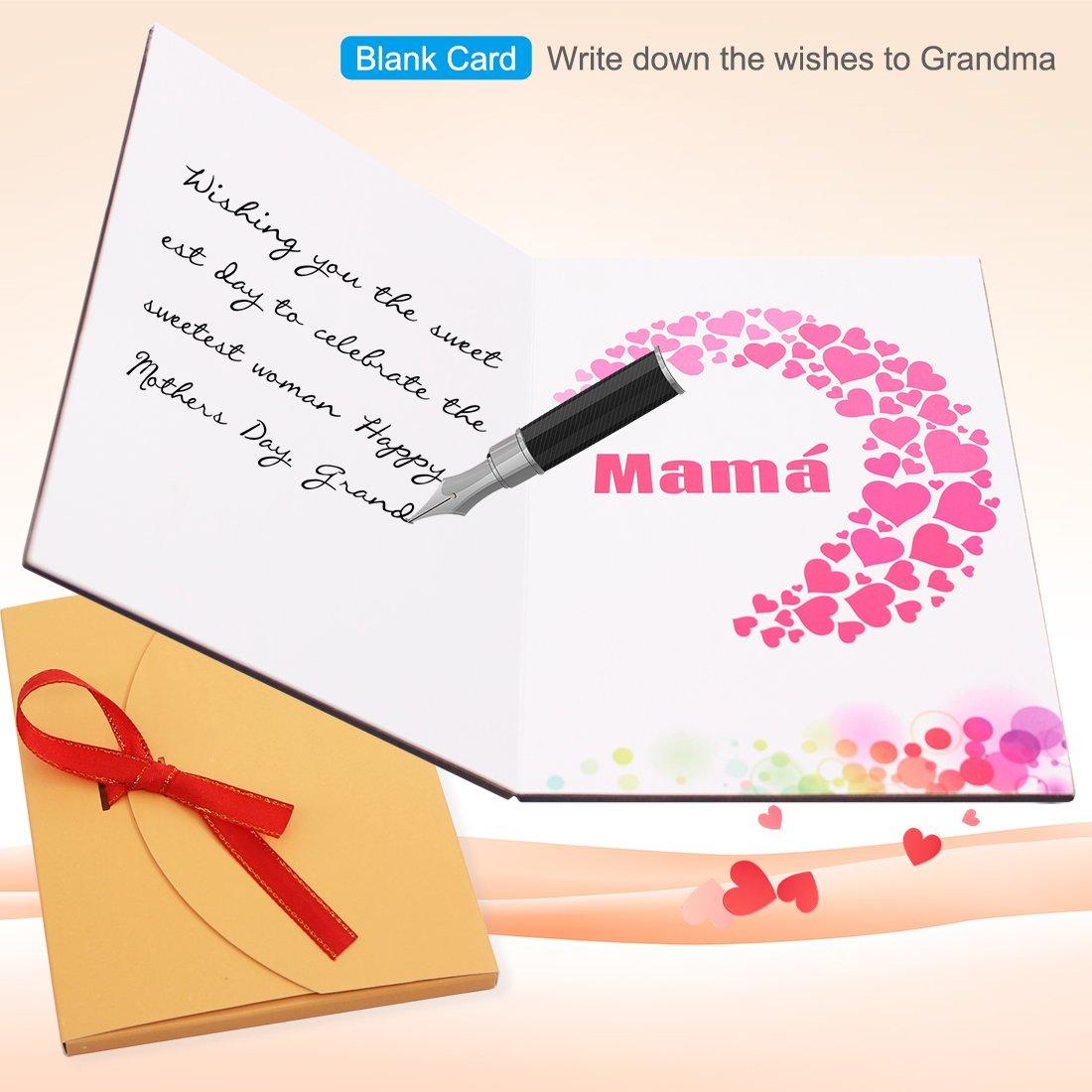 Tarjeta de felicitaci/ón amorosa de madera de nogal hecha a mano de Creawoo con caja tarjeta regalo /única La mejor idea de regalo para cumplea/ños San Valent/ín y aniversarios.