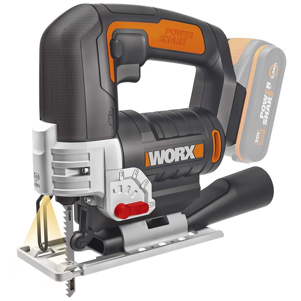 Worx WX 543.9 Pendelhubstichs/äge 20 V