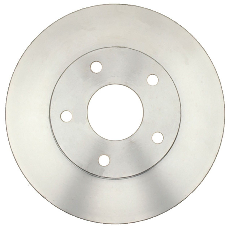 ACDelco 18A882A Advantage Non-Coated Front Disc Brake Rotor