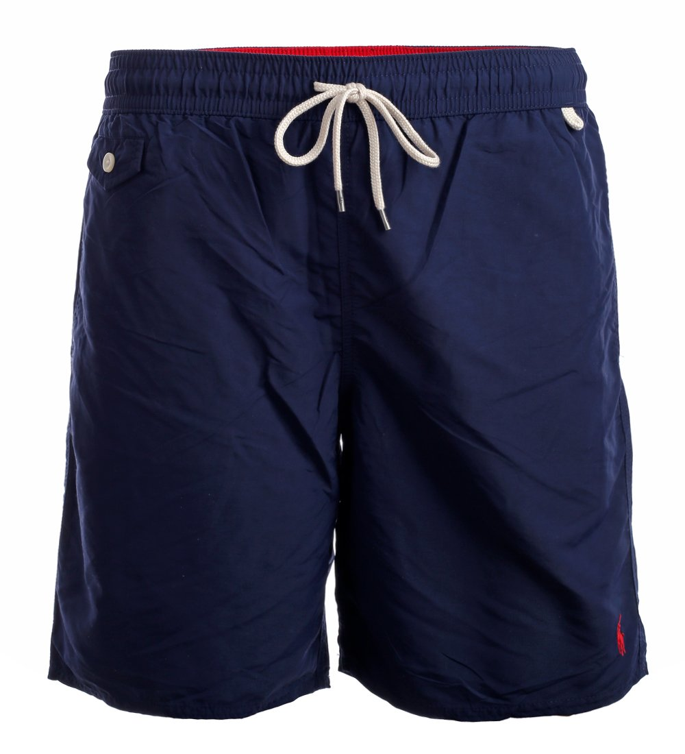921c281ffd61b Polo Ralph Lauren Mens Printed Swim Shorts Beach Trunks with Strings.  Product main image