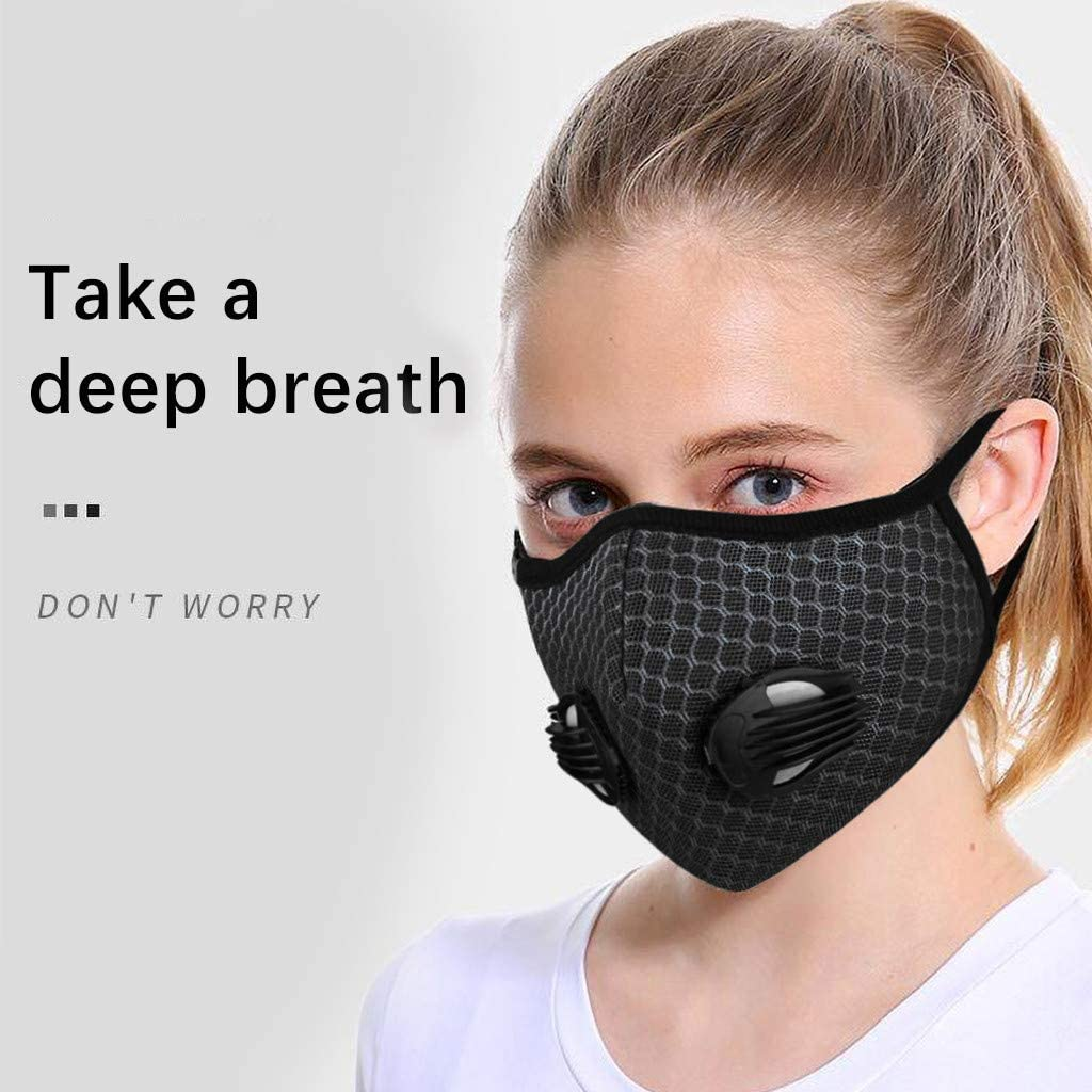 Wendeyipi Family Anti Pollution Dustproof Safety Reusable Face Product for Cycling Walking Dogs Outdoor Activities