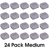 Cottage Mills DotBox Medium Box - 24 pcs. Little Storage Boxes for Storing Little Things Like Beads, findings and Parts. Boxes fit Inside DotBox Carrying Cases Sold Separately. 3 Packages of 8.