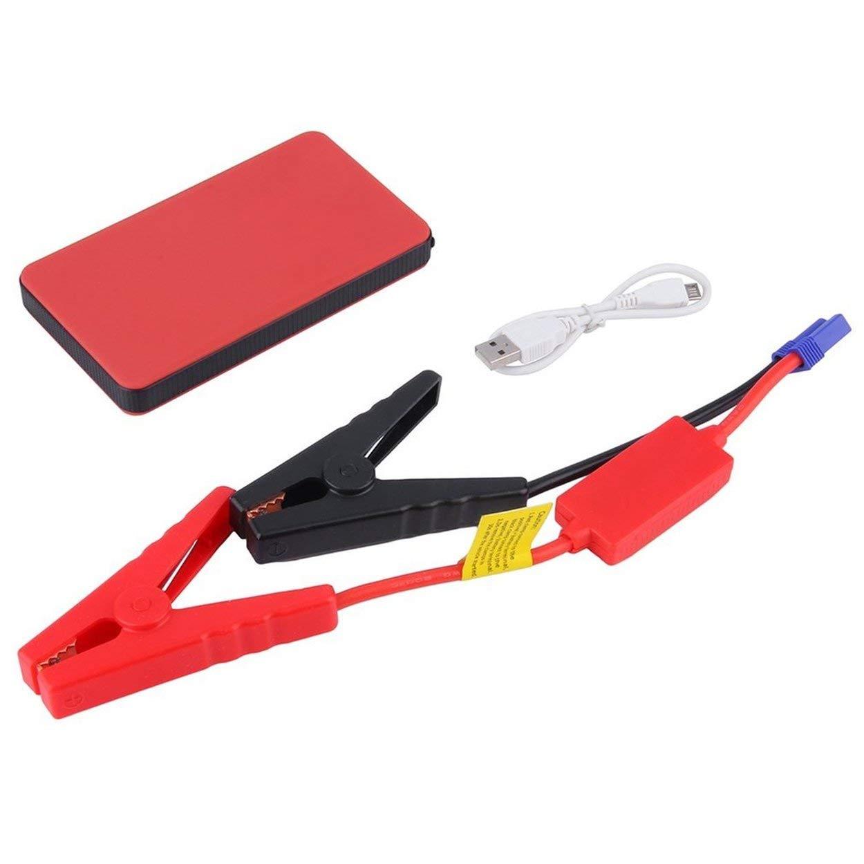 Lofenlli 12V 20000mAh Mini Portable Multifonctionnel De Voiture Saut D/émarreur Power Booster Chargeur De Batterie Urgence Chargeur