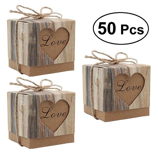 Luoem Papier Handwerk Boxen Hochzeit Geschenkboxen Diy