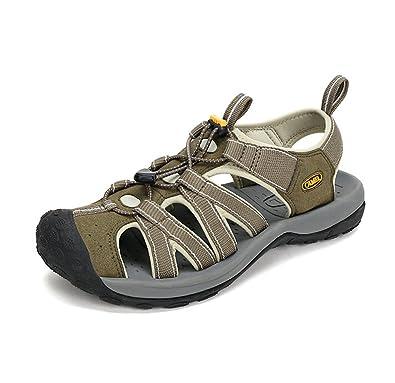 Men's RV Performance Closed Toe Sandal Color Green Size 39 M EU