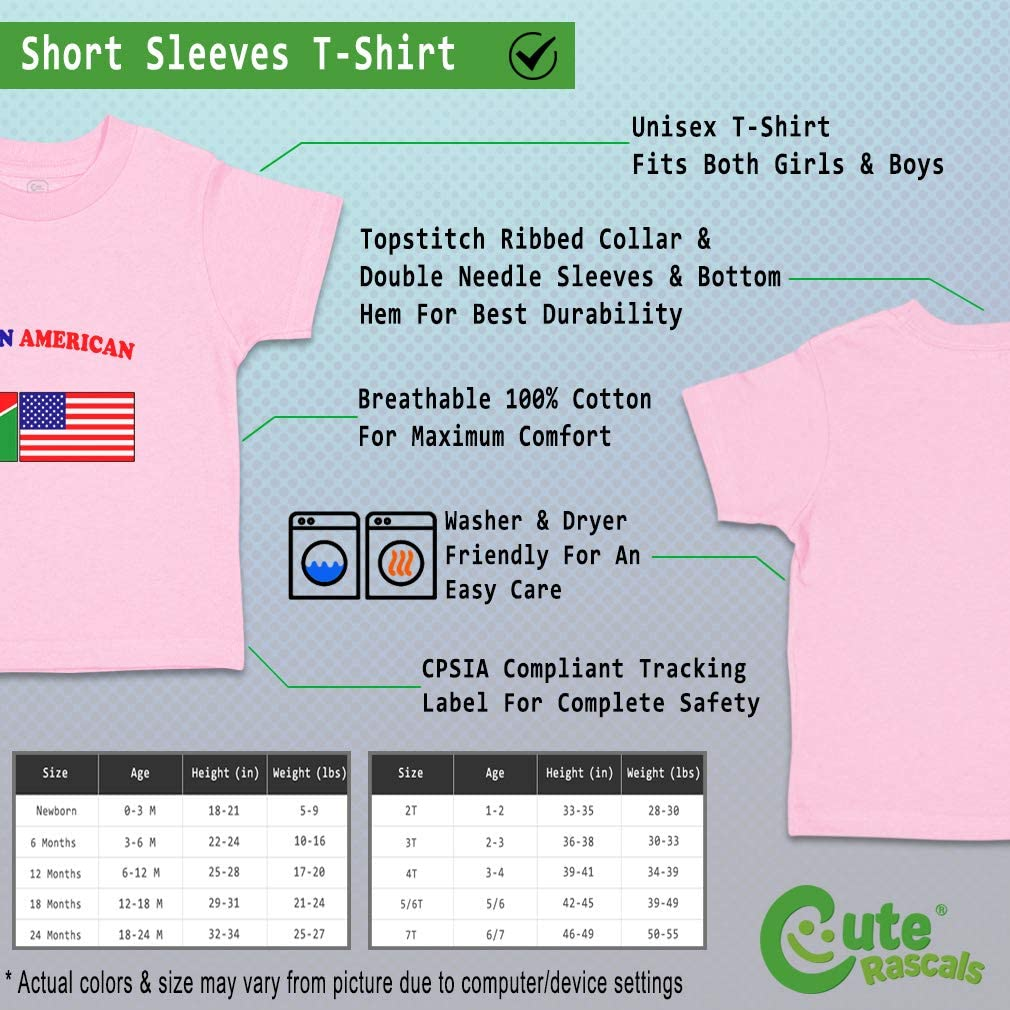 Custom Baby /& Toddler T-Shirt Namibian American Cotton Boy Girl Clothes