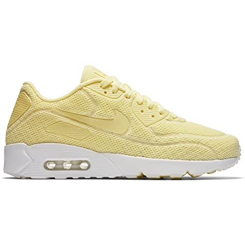 Zapatillas Nike - Air MAX 90 Ultra 2.0 BR Amarillo/Amarillo/Blanco Talla: 38,5: Amazon.es: Zapatos y complementos