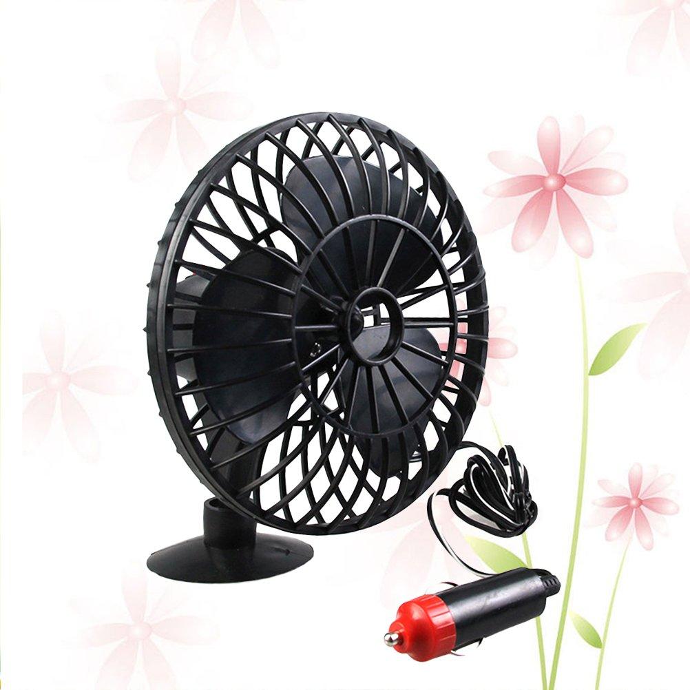 VORCOOL 13,5 cm Auto Mini Elektrische Fan High Performance Auto Luftk/ühlsystem Tragbare Ger/äuscharm f/ür Sommer Auto Fahrzeug