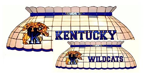 Amazon Com Kentucky Wildcats Stained Glass Pool Table Light