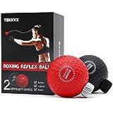 TEKXYZ Boxing Reflex Ball, 2 Difficulty Level