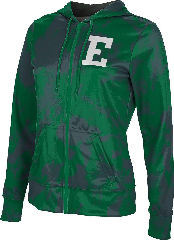 ProSphere Eastern Michigan University Girls Zipper Hoodie School Spirit Sweatshirt Grunge