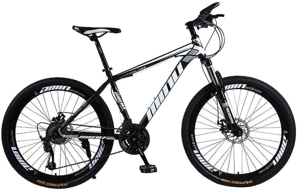 j/óvenes Kashyk Bicicleta de monta/ña con ruedas de 26 pulgadas para ni/ños mujeres bicicleta de deporte 21 velocidades con suspensi/ón completa hombres bicicleta de carreras ni/ñas