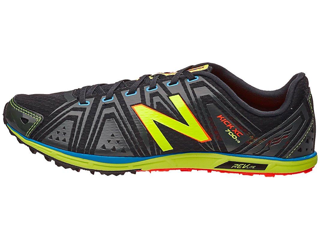 New Balance Men's MXC700 Spike Cross-Country Shoe, Green/Yellow, 13 D US