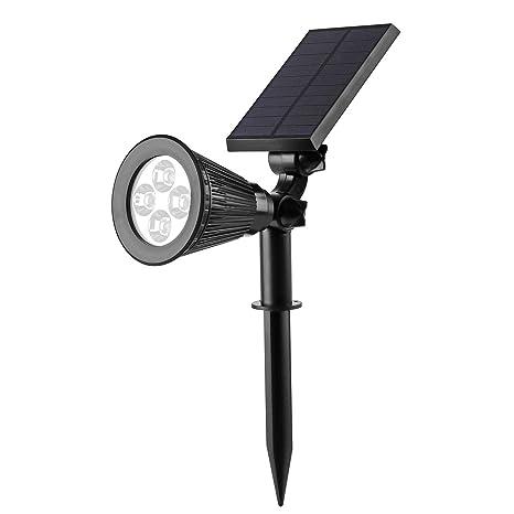 LED Lámpara Solar solar Landscape Iluminación Spotlight Blanco Cálido