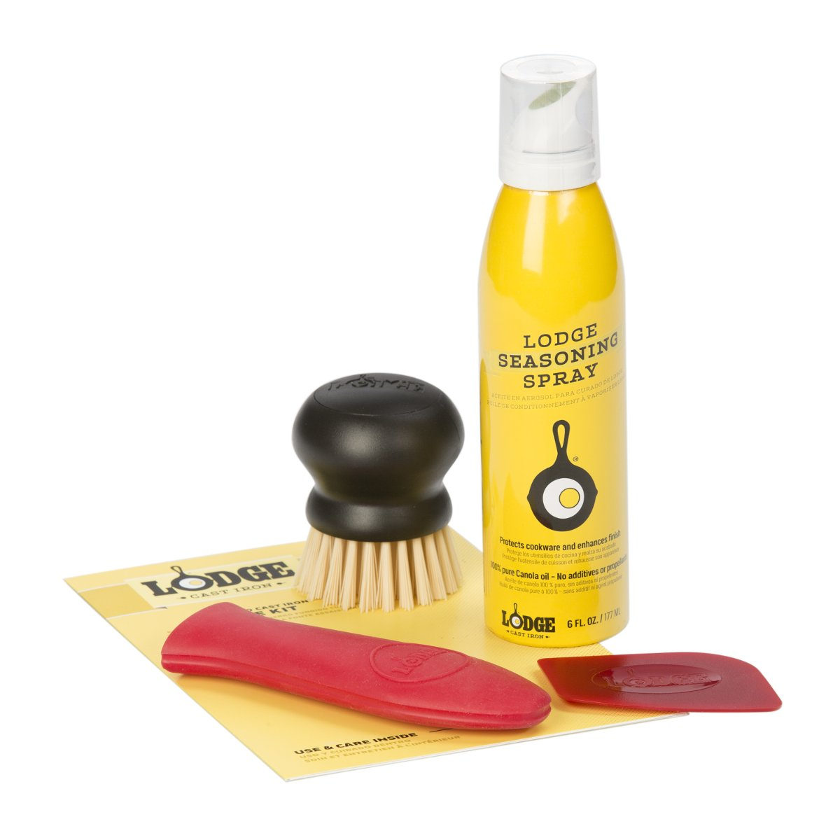 Lodge A-CAREC1 Seasoned Care Kit, Yellow A-CARECP1PLT