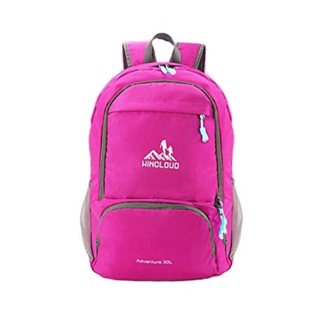 fcca5055d182 Amazon.com: Haoyushangmao Foldable Backpack - Lightweight Outdoor ...