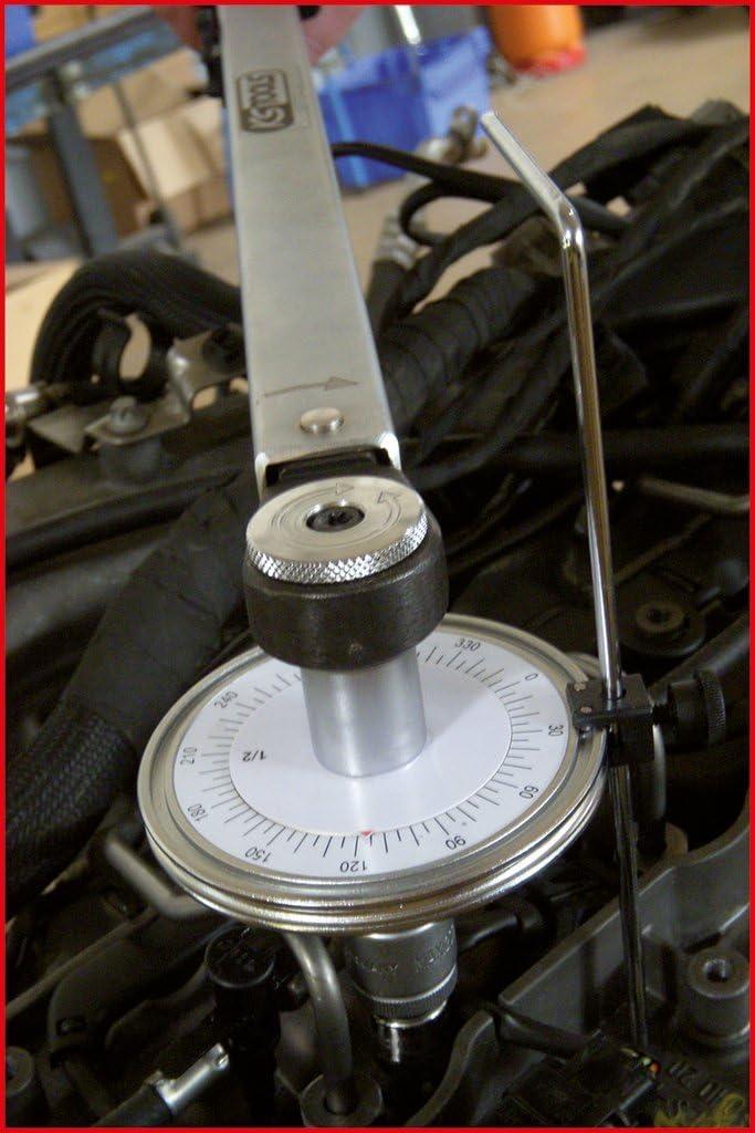 KS Tools 516.1196 1//2 Medidor de par /ángulo la garra