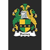 Barnes: Barnes Coat of Arms and Family Crest Notebook Journal (6 x 9 - 100 pages)