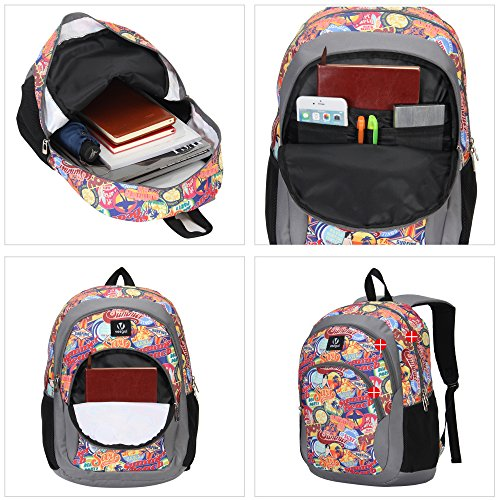 7a345f35d7 Veegul Cool Backpack Kids Sturdy Schoolbags Back to School - Import It All