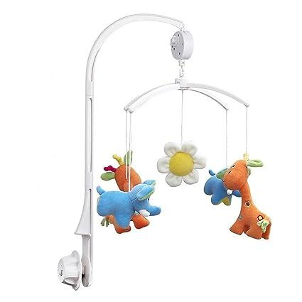 NUOLUX niños bebé cuna cama Mobile Bell Toy Soporte Brazo con Caja de música liquidación (