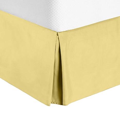 Amazon Com Nestl Bedding Pleated Bed Skirt Luxury Microfiber Dust
