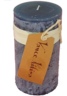 Amazon.com: Vance Kitira Timber Collection Pillar Candle - Sand (4 ...