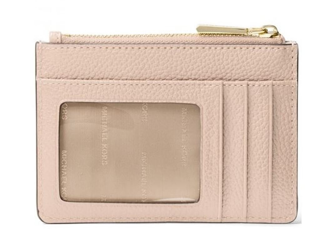 MICHAEL Michael Kors Mercer Leather Coin Purse (Soft Pink) by MICHAEL Michael Kors (Image #2)