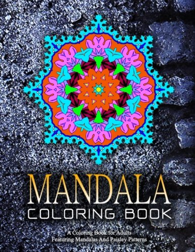 MANDALA COLORING BOOK - Vol.12: adult coloring books best sellers for women (Volume 12) Flower Power Charm