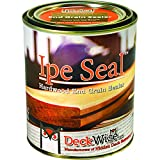 DeckWise Ipe Seal Hardwood Endgrain Sealant, 1 Qt Can