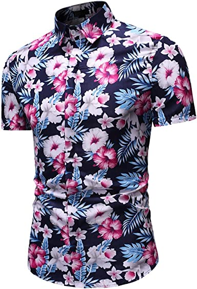 Camisa de Manga Corta para Hombre, Manga Larga, Informal, de ...