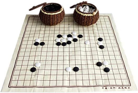 FunnyGoo Juego de ajedrez Go con 361 Piedras exquisitas de ...