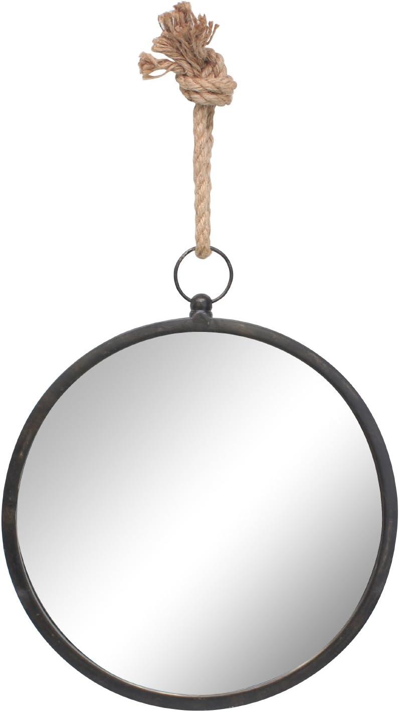 Stonebriar Round Metal Mirror