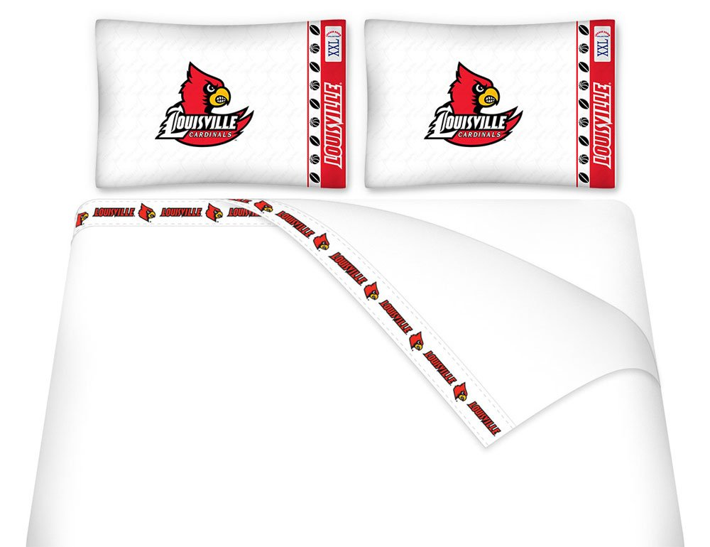 NCAA Louisville Cardinals - 5pc BED IN A BAG - Queen Bedding Set