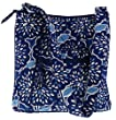 Vera Bradley Hipster Handbag Shoulder or Crossbody Bag Satchel Purse in Petal Splash