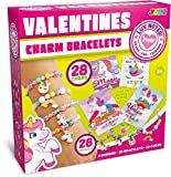 Toys : 28 Packs Unicorn Valentines Day Gifts Cards for Kids with Bracelets, Valentine's Greeting Cards for Classroom Exchange Cards and Valentine's Party Favor