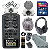 zoom h6 module - Zoom H6 Handy Recorder with Interchangeable Microphone System with Deluxe Accessory Bundle