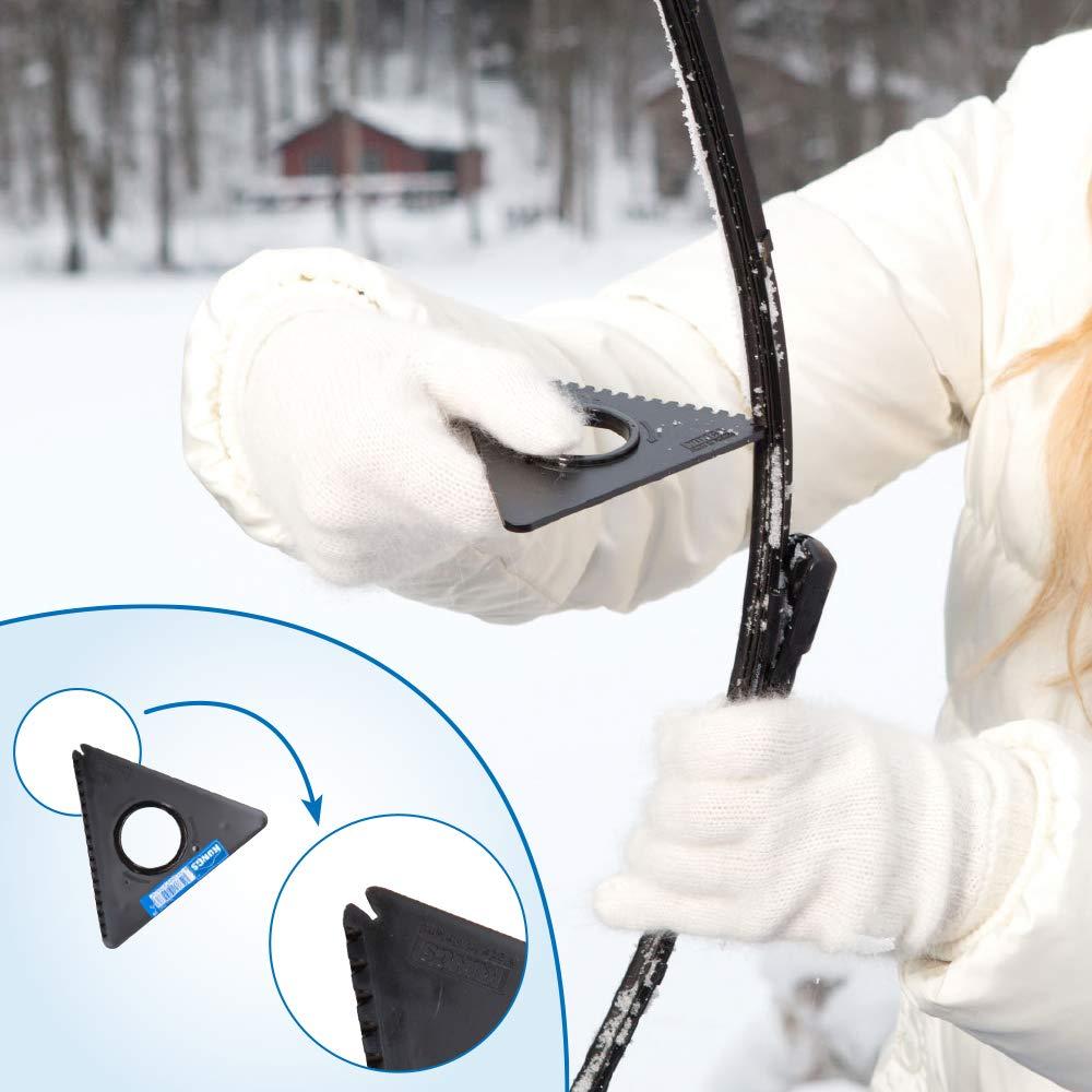 Kungs 6109 Tele-is Telescopic Snow Brush//Ice-Scraper