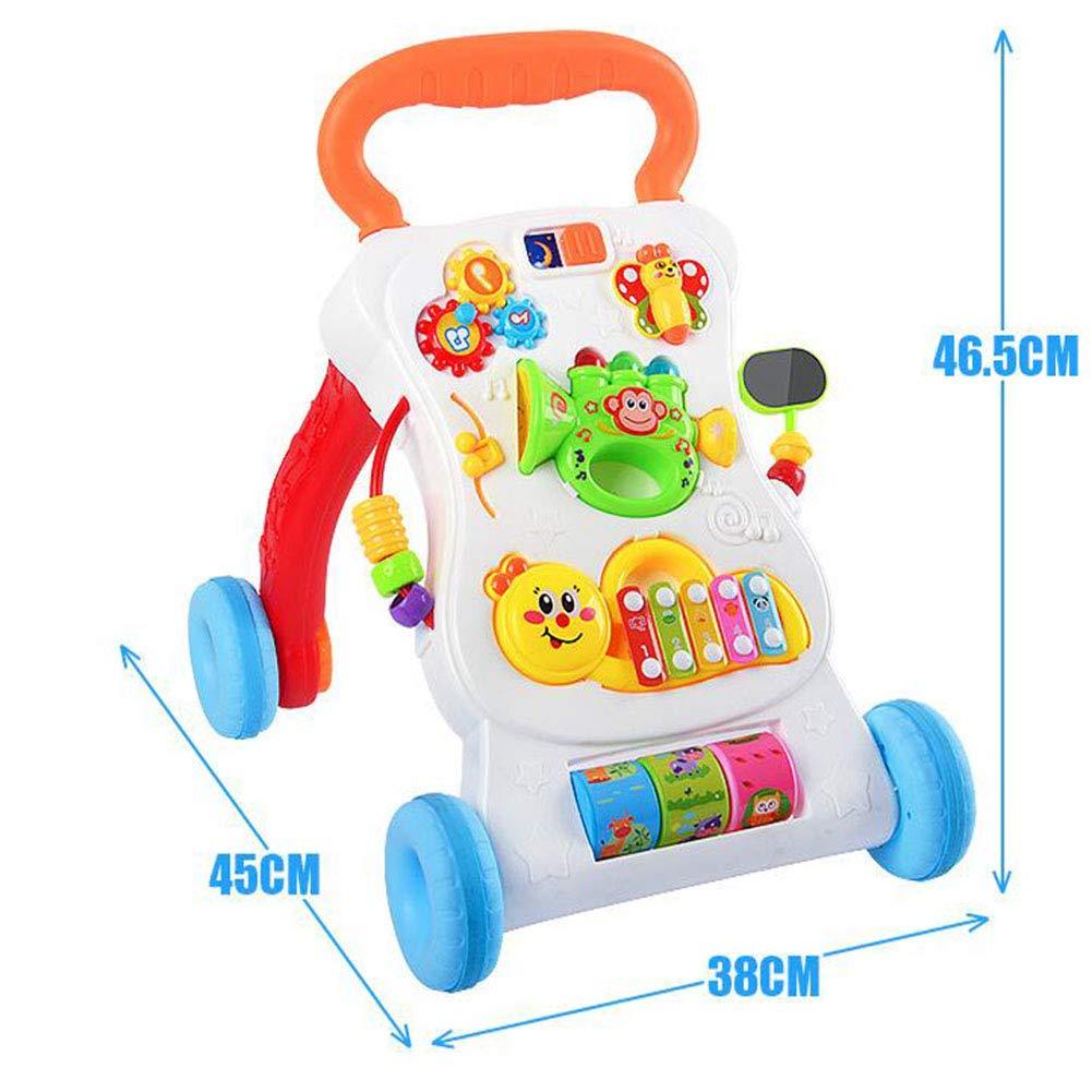 Baby Walker multifunción Trolley Puzzle juguete para niños ...