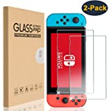 HEYUS Nintendo Switch Screen Protector Glass, [2 Pack] Premium Tempered Glass Screen Protector for Nintendo Switch