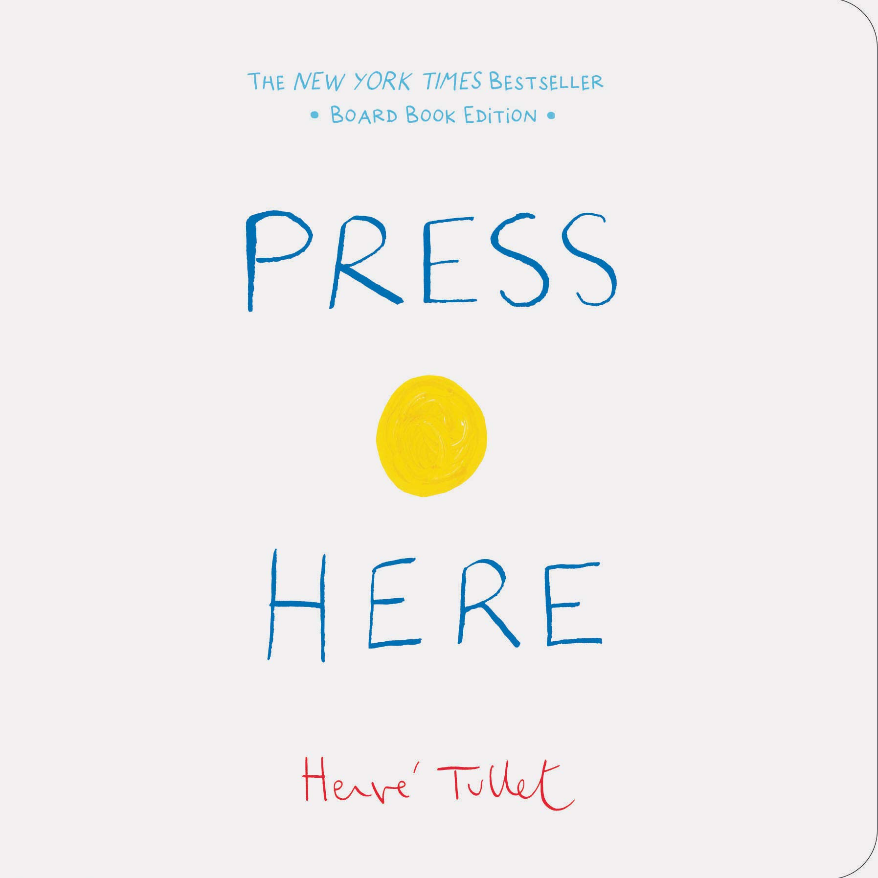 Amazon.com: Press Here (9781452178592): Tullet, Herve: Books