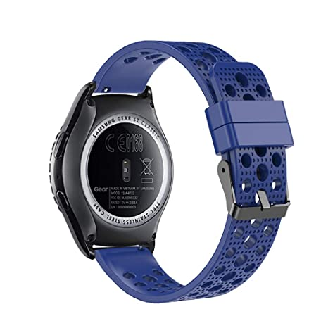 Fit-power - Correa de Repuesto para Reloj Inteligente Samsung Gear Sport/Samsung Gear