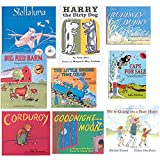 Constructive Playthings BOK-100 Children's Classic Library Hardcover Books, Grade: Kindergarten to 1, Set of 9