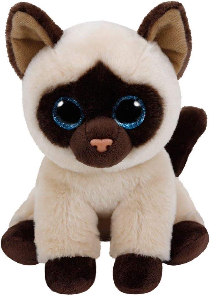 TY - Beanie Babies Jaden, peluche gato siamés, 15 cm (United Labels Ibérica 42129TY) , color/modelo surtido: Amazon.es: Juguetes y juegos