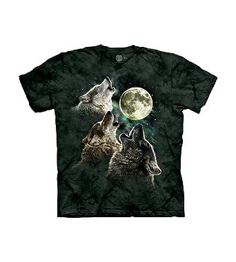 eeaba83bb9668 The Mountain Men's Three Wolf Moon Short Sleeve Tee